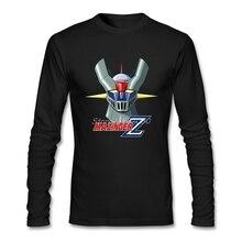 Mazinger Z T Shirt Cotton Long Sleeve Custom Brand-clothing Fashion Team Tee Shirts Homme