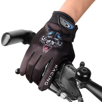Rękawice motocyklowe człowiek ekran dotykowy rękawice ochronne rękawice ogrodowe kreatywny wilk rękawice Guantes rękawice motocyklowe Motosiklet Eldiveni tanie i dobre opinie Unisex Elastan i nylonu Z pełnym palcem JUSTAUTO