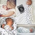 Macia Do Bebê Panos de Musselina Cobertor Swaddle Algodão Bebê Recém-nascido Toalha 120x120 cm