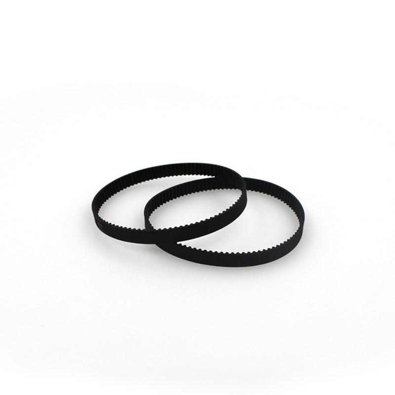 New Brand 3d printer belt closed loop rubber GT2 timing belt 200-2GT-6 Length 200mm width 6mm 8