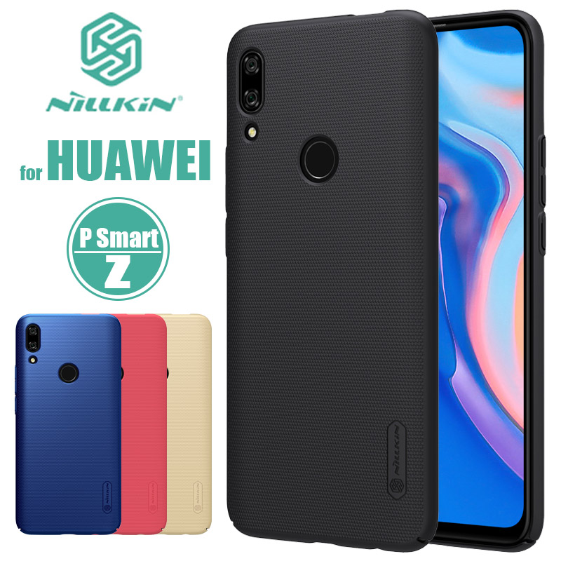Huawei P Smart Z Case Nillkin Super Frosted Shield Hard Matte Ultra-Thin Back Cover Case for Huawei P Smart Z Nilkin Phone Case