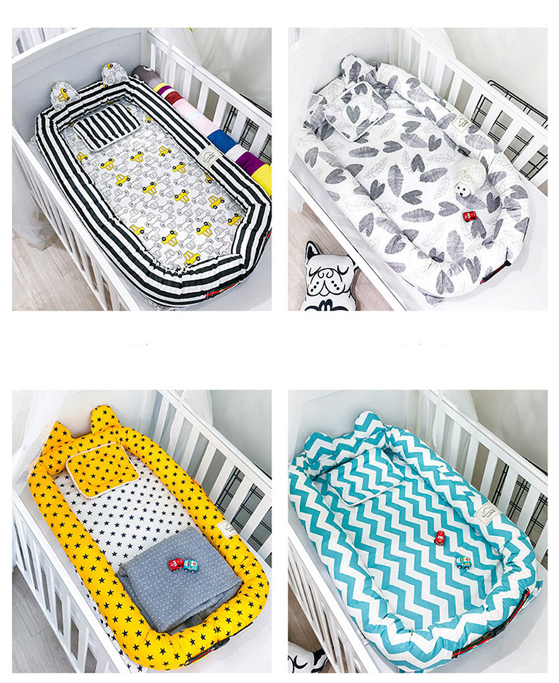 Portable Cotton Pillow Babynest 13