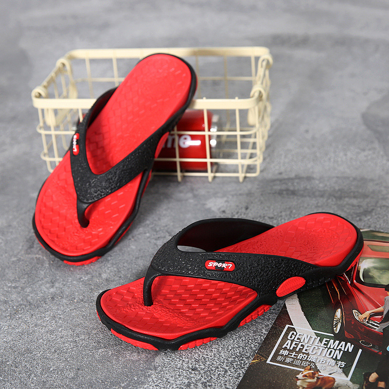 Summer Anti slip Clip Feet Cold Slippers Flip Flops Men 39 s Beach Slippers Fashion Outdoor Slipper Flip flops High Quality Shoes in Flip Flops from Shoes