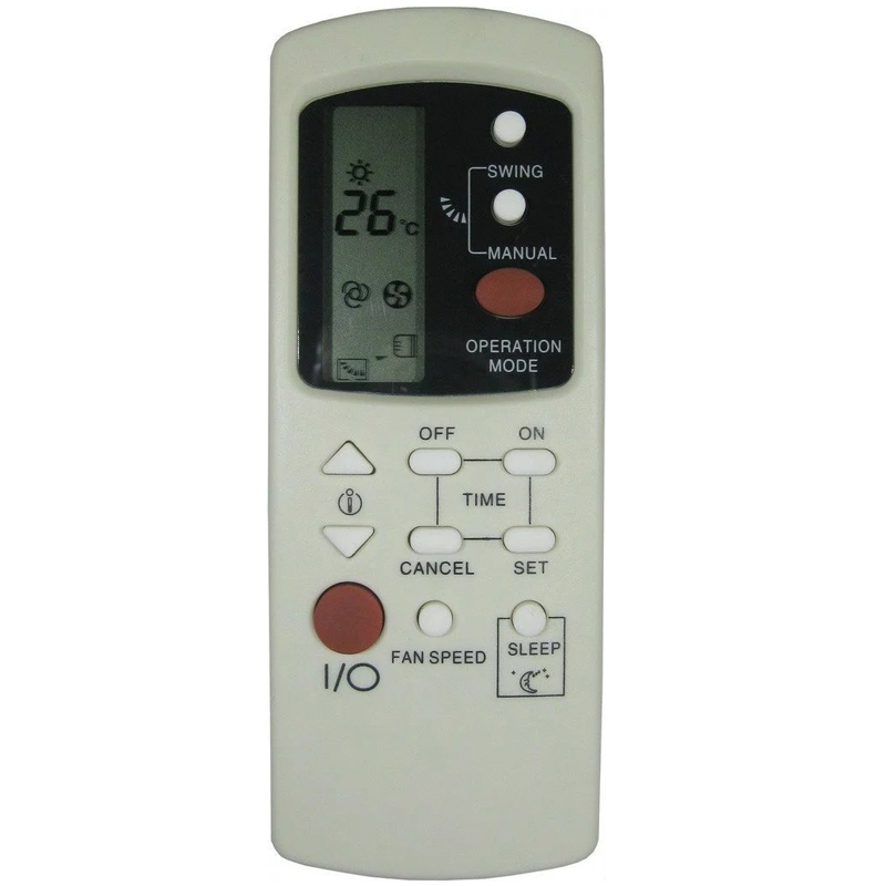 US $14 98 |YINGRAY Replacement Remote for Galanz Air Conditioner Remote  Control Model Number GZ 1002B E3 GZ 1002B E1 GZ 1002A E1-in Remote Controls
