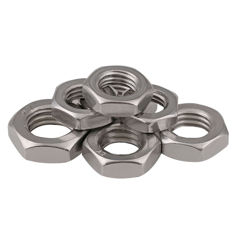 M6-1.0 Coarse Thread 6mm 1.0 Wing Nut Stainless Steel Nuts 5 Thumb Nut