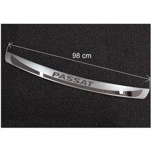 Высокое качество нержавеющей стали заднего бампера протектор порога для 2011- Volkswagen Passat B7(98 см
