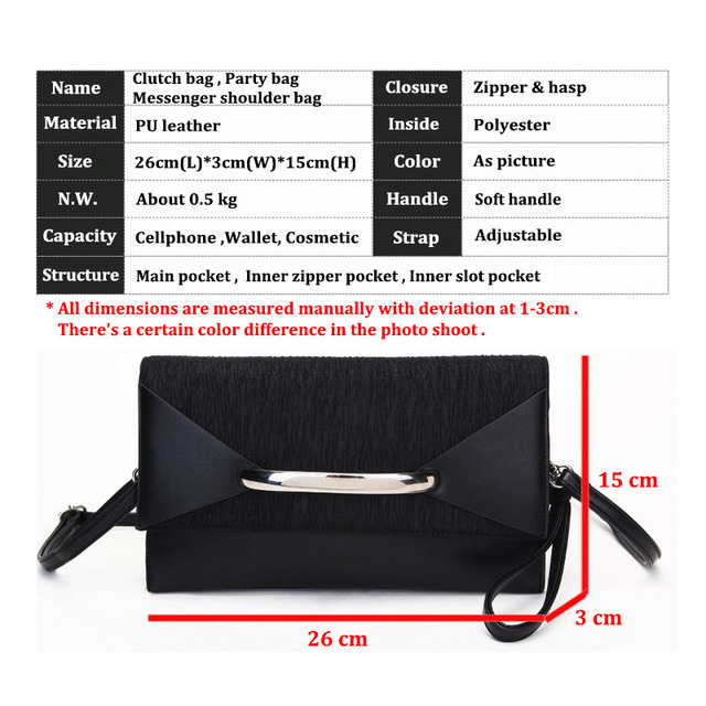 Znakomity Envelope clutch bag  5