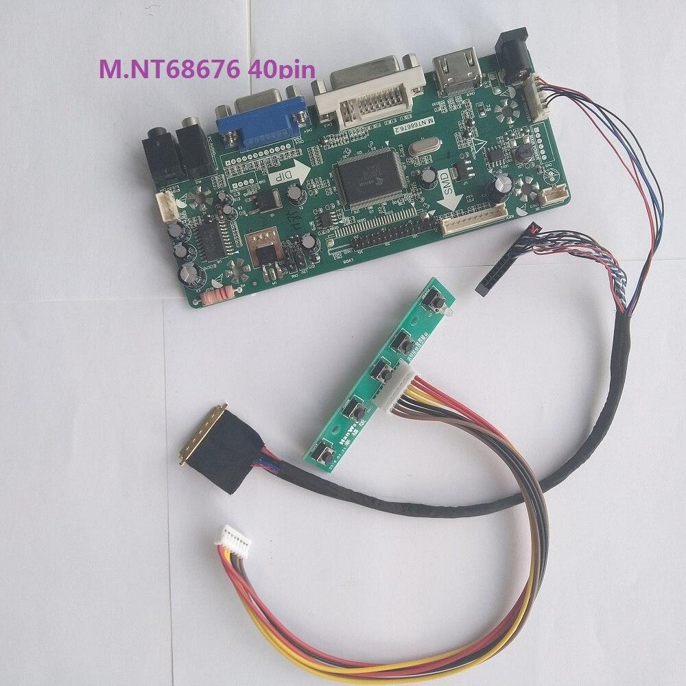 LCD Screen Driver Controller Board HDMI+DVI+VGA M.NT68676.2 D1 TL For LM230WF5