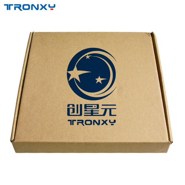 A impressora 3d tronxy parte a placa de vidro 220*220/330*330mm do viveiro de vidro da treliça da cama de calor da construção da placa 3d impressão