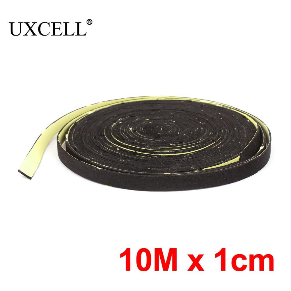 UXCELL Black 10M 33Ft Length 1Cm Width Car Audio Sp