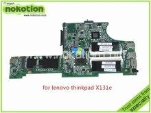 laptop motherboard for lenovo thinkpad X131E DALI2AMB8E0 REV E FRU 04Y1129 AMD E1-1800 DDR3