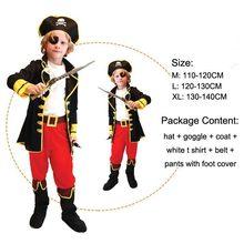 1178b8e4baa00 Halloween enfant garçon fille carnaval enfants pirates des caraïbes costume  enfants pirate costumes pour filles chemise