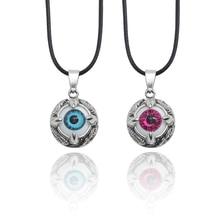 Fashion Trend Alloy Pendant Jewelry Demon Eye Pendant Necklace Men And Women Punk Style Jewelry Nightclub Personality Necklace punk style alloy rhinestone necklace