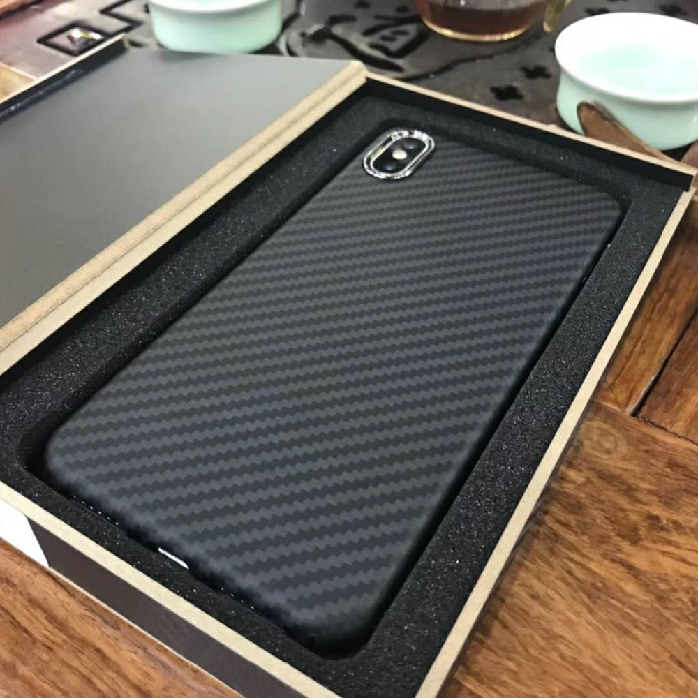 Top Quality Super Sport Car Handmade Matte Carbon Fiber Cover For iPhoneX Xs Carbon Fiber Cases For iPhone Xs MaxTop Quality Super Sport Car Handmade Matte Carbon Fiber Cover For iPhoneX Xs Carbon Fiber Cases For iPhone Xs Max