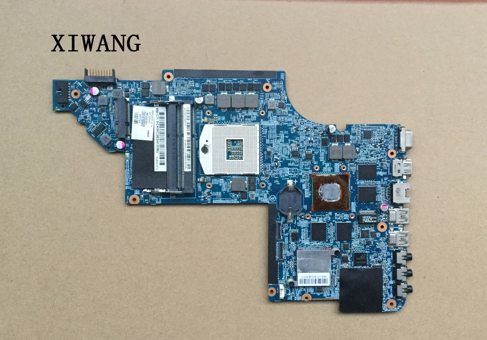 665342-001 Free Shipping Laptop Motherboard For HP Pavilion DV6T DV6-6000 motherboard HD6770 2GB Notebook PC Tested OK free shipping 659151 001 for hp pavilion dv6 dv6t dv6 6000 laptop motherboard hm65 chipset hd 6770 1g 100% tested ok