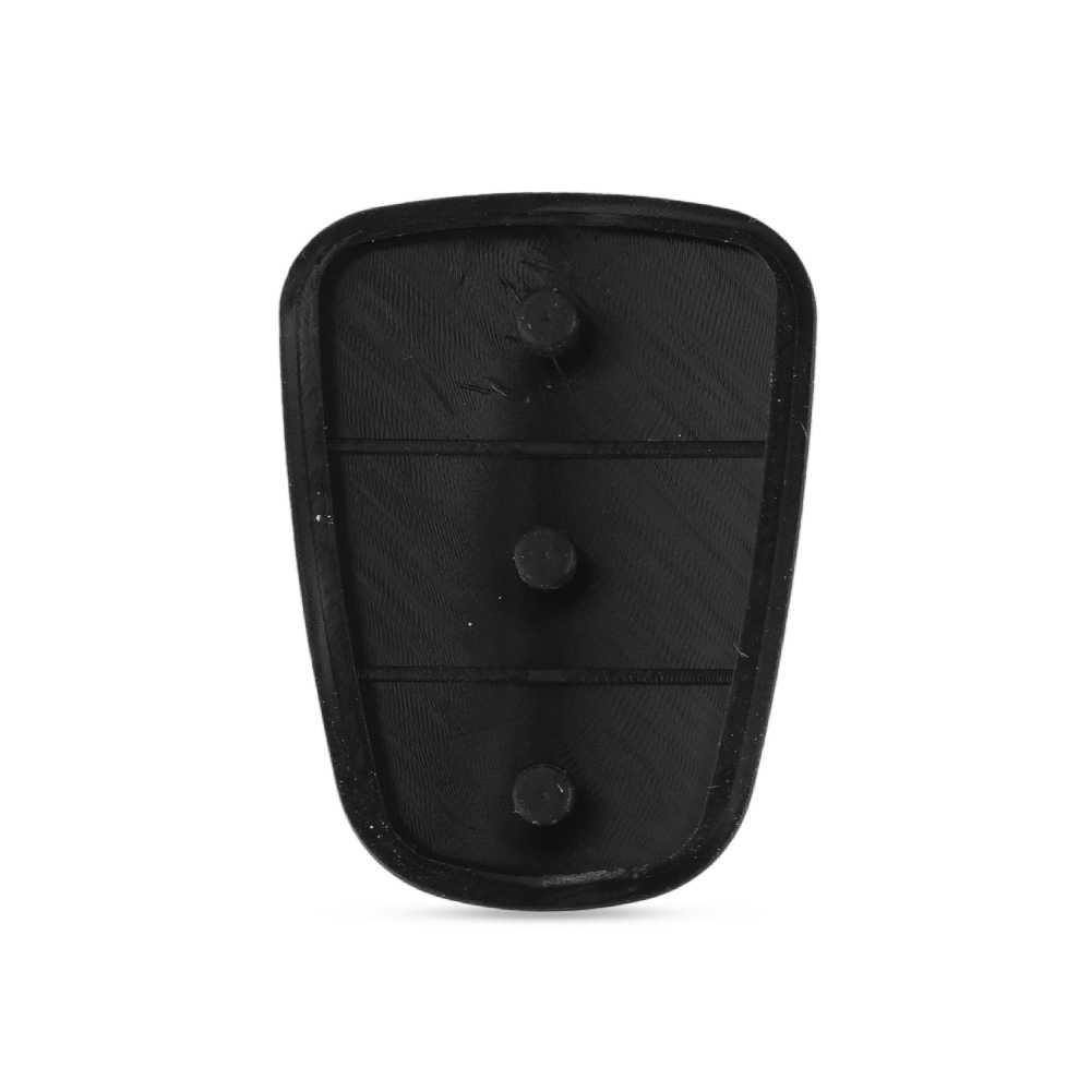 KEYYOU Kauçuk 3 Tuş Takımı Için Hyundai Solaris Accent Tucson I30 IX35 Kia Rio Ceed Çevirme Uzaktan Araba Anahtarı kabuk Durumda Kapak Pedi