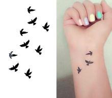 2017 NOVOS Modelos de 300 Tatuagem Temporária Tatoo For Man Weman Adesivos À Prova D' Água maquiagem compõem O pombo da paz tatuagem(China (Mainland))