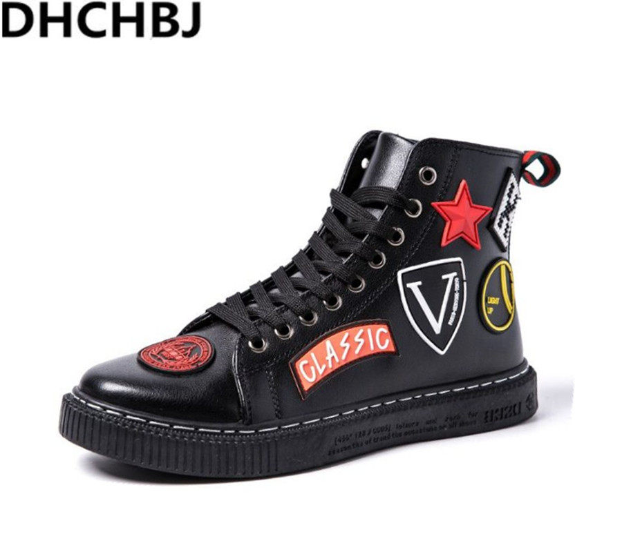 Buy hip hop shoes men leather and get free shipping on AliExpress.com 0cc112f55d2c