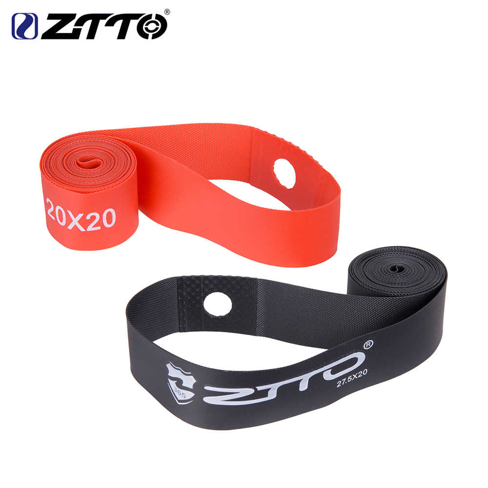 1 par ZTTO Premium PVC Tiras de Fitas de Aro para 20 24 26 27.5 29 Polegada 650B 700c MTB Mountain Bike dobramento Da Bicicleta Da estrada Da Bicicleta parte