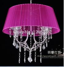 Специальный простой Европейский K9 68 10 хрустальная люстра спальня гостиная столовая свеча лампы