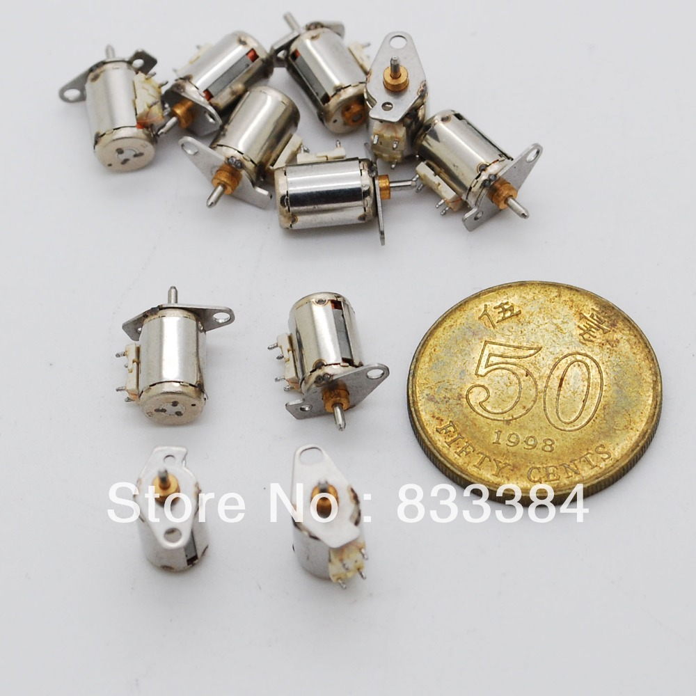 Wholesale 20pcs 2 Phase 4 Wire Miniature Stepper Motor Dc