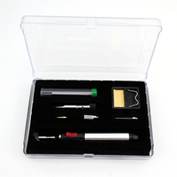7 in 1 Gas Soldering Iron Gas Touch Soldering Cordless Welding Heat Gun Touch Kit Repair Tools HT 1934K