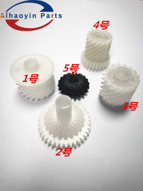 1sets 5pcs DCC5065 Recycling gear for <font><b>Xerox</b></font> color <font><b>550</b></font> 560 570 700 C75 J75 DocuCentre c6500 c5065 c7500 c5540 c7600 toner gear image