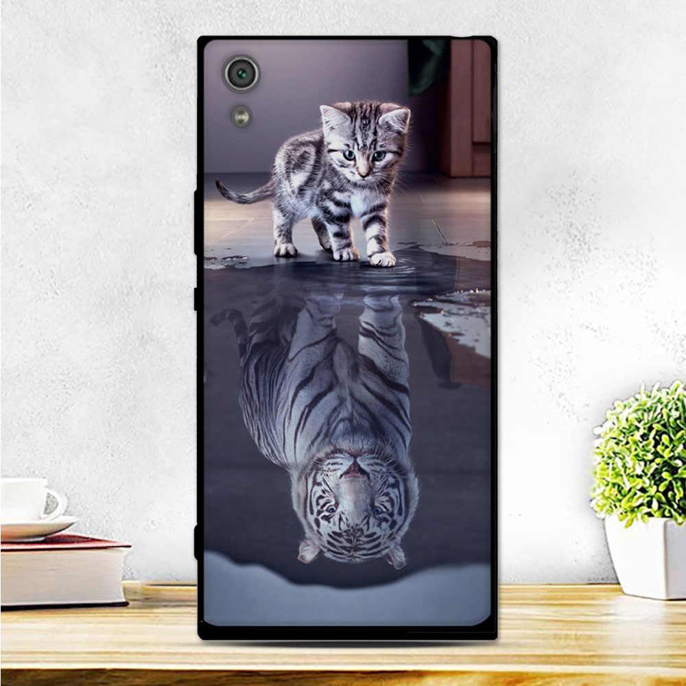 """מקרה עבור Sony Xperia XA1 Ultra כיסוי רך סיליקון טלפון Case עבור Sony Xperia XA1 Ultra G3221 G3212 G3223 G3226 כיסוי 6.0 """"מעטפת"""