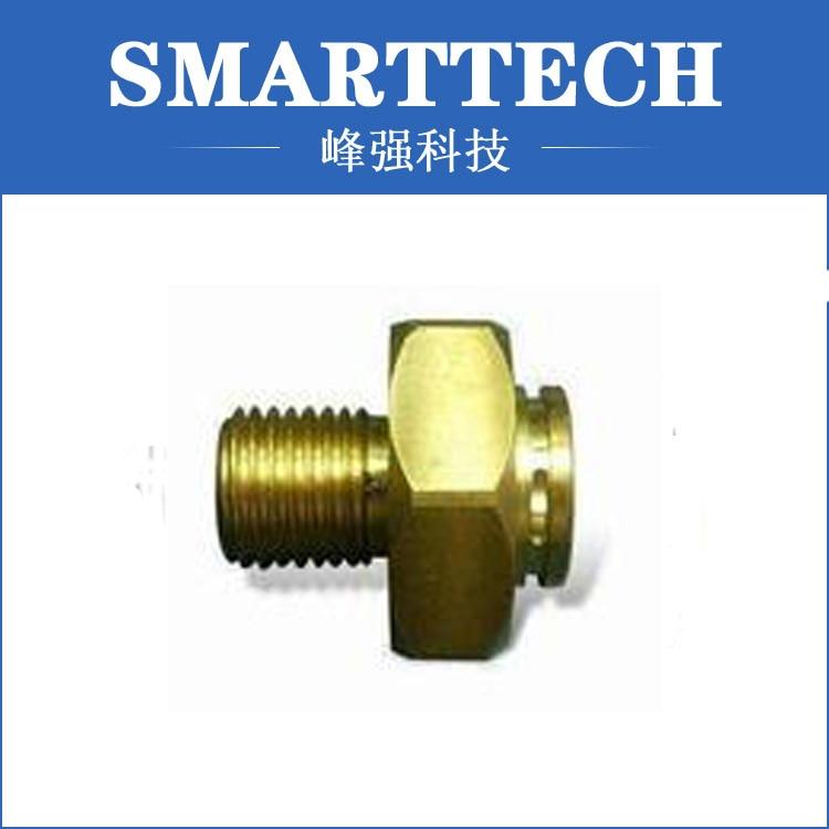 Irrigation machine spare parts, screw parts, CNC machine golden color accessory screw spare parts shenzhen cnc machine