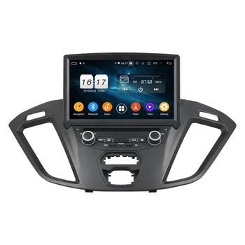 "4GB RAM Octa Core 1 din 8"" Android 9.0 Car Radio DVD Player for Ford Transit Custom 2016 GPS 4G WIFI Bluetooth USB Mirror-link"