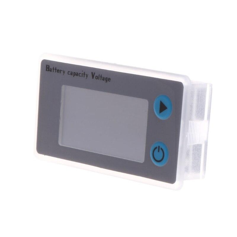 Универсальный ЖК-дисплей 10-100 в, свинцово-кислотный индикатор емкости литиевой батареи, цифровой вольтметр, тестер напряжения, монитор, JS-C33