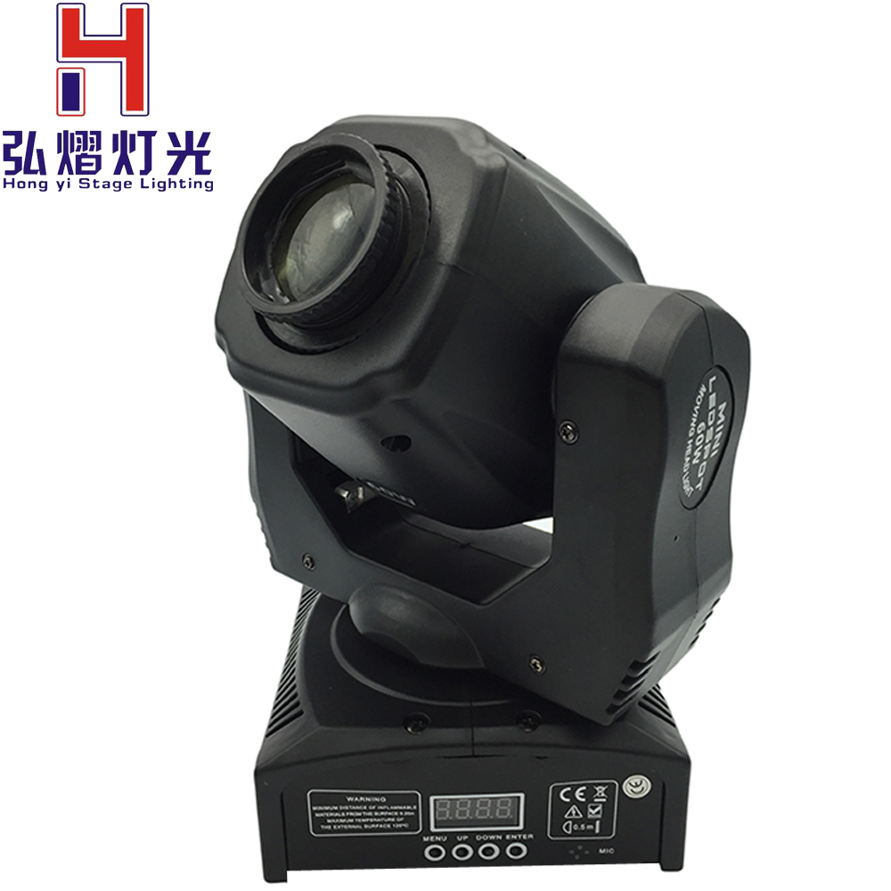 New Hot High quality 60W LED Moving Head Light beam DMX512 led Mini Led Moving Head Light DJ equipment Spot Light 1 pieces lot high quality 60w led moving head spot light led moving head beam dj equipment dmx512 china 60w gobo moving heads