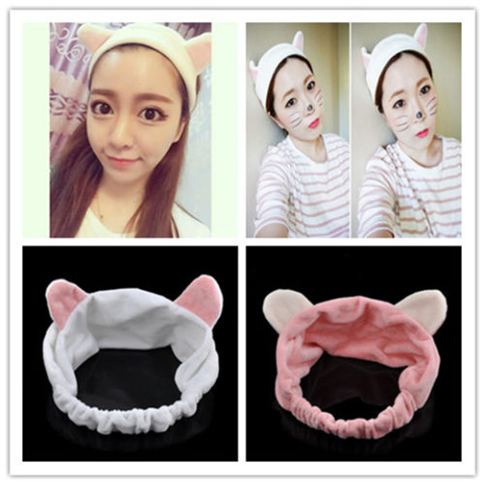 2018 New Arrival Man With Subsection Orecchiette Hair Bands Face Makeup Hair Bands Hair Accessories Headband