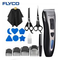 FLYCO Professional Rechargeable Electric Hair Clipper Kit Razor Trimmers Barber Tool Health Care Clipper Household FC5901
