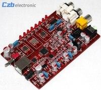 New Original XMOS PCM5102 TDA1308 USB Decoder Board USB DAC 384KHZ 32bit R179 Drop Shipping
