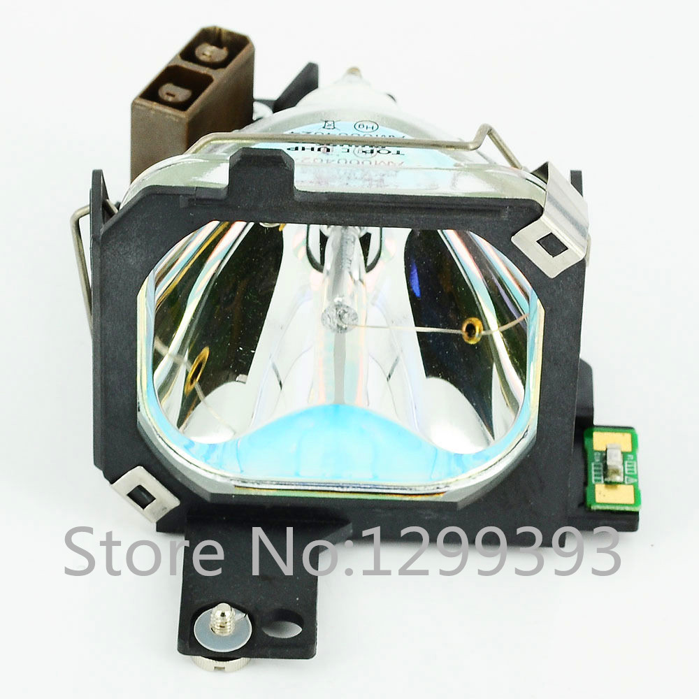 ELPLP09 for   PowerLite 5350/7250/7350 EMP-5350/7250/7350  Compatible Lamp with Housing  Free shipping free shipping lamtop uhe 132w compatible lamp with housing for emp tw10 emp tw10h