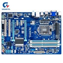 Gigabyte GA-Z77-HD3 100% Original Motherboard LGA 1155 DDR3 USB3.0 32G Z77 Z77-HD3 Z77 HD3 Desktop Mainboard 22nm processor Used