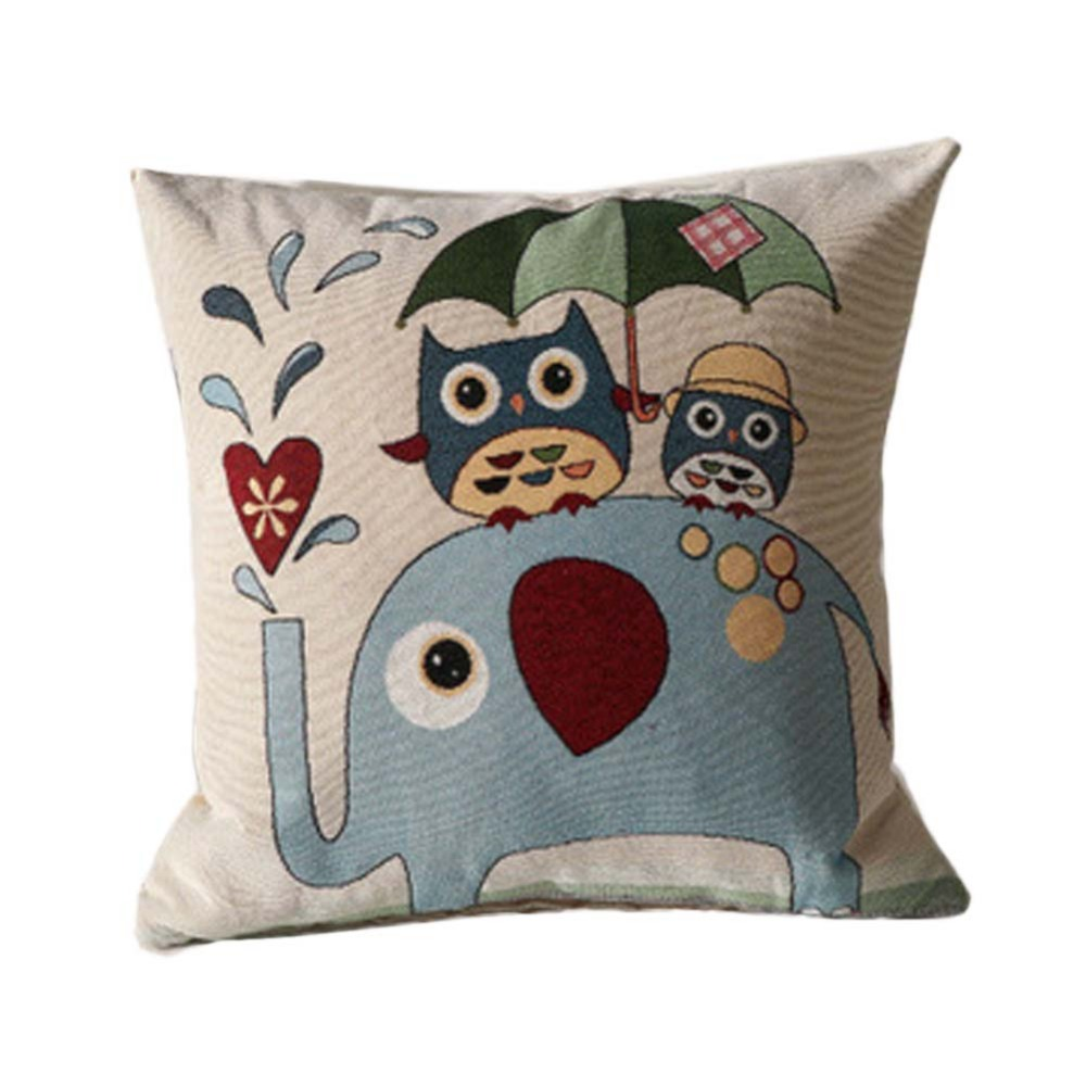 Owl Pillow Pattern Popular Embroidered Owl Pillow Buy Cheap Embroidered Owl Pillow