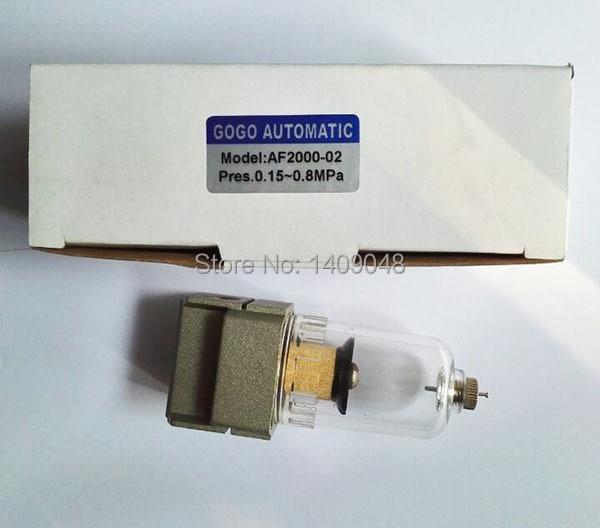 AF2000 02D 1//4 /'/' Luftfilterregler Wasserabscheider Kompressor