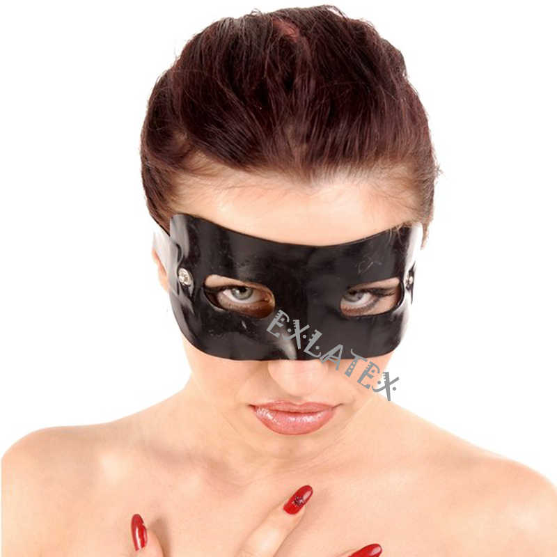 Latex eye mask