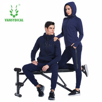 Two Piece Sweater Loose Running Fitness Leisure Lovers Suits Winter Cotton Sportswear