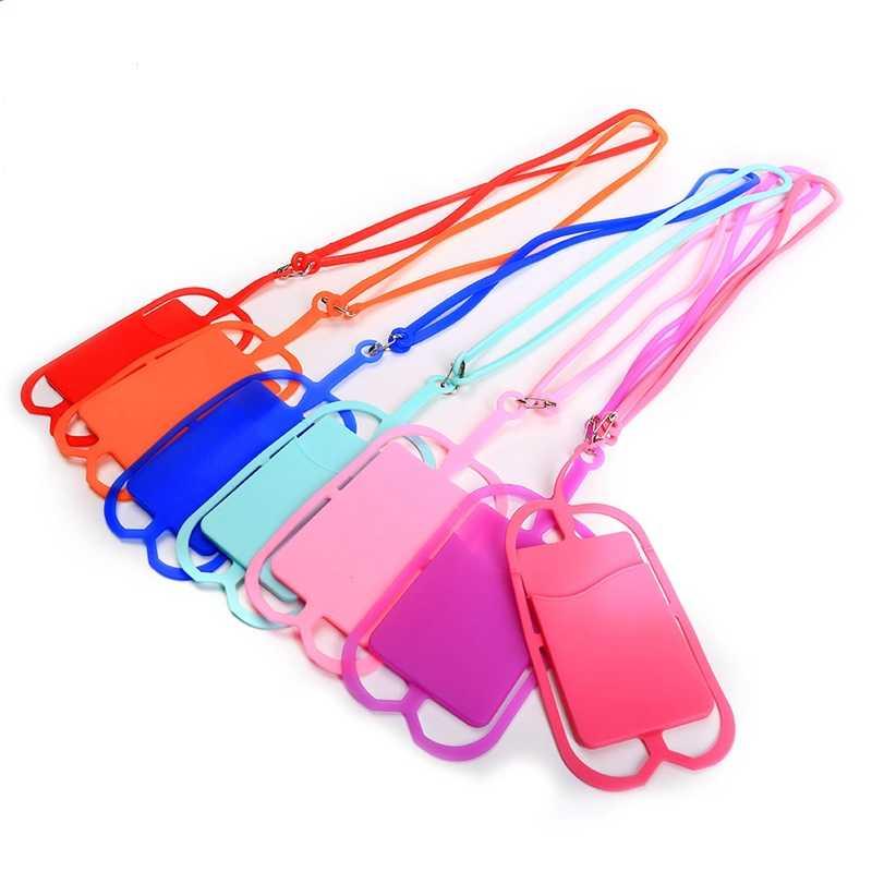 Мобильный телефон силиконовый шнурок ремень шеи браслет ожерелье карты наборы клипсов DIY