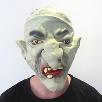 Halloween Mask Horror Hell Soldier Masks High Quality Green Deamon Monster For Festival Party Bar