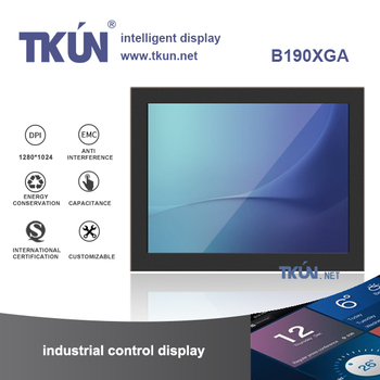 19-inch capacitive multi-touch display ,Precision equipment displays,Precision capacitive touch screen