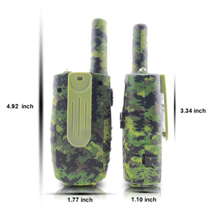 Image 2 - Portable Mini Kids Walkie Talkie PMR446MHZ 8/22CH Two way Radio LCD Display Fashlight with USB Charing jack for Children Gifts