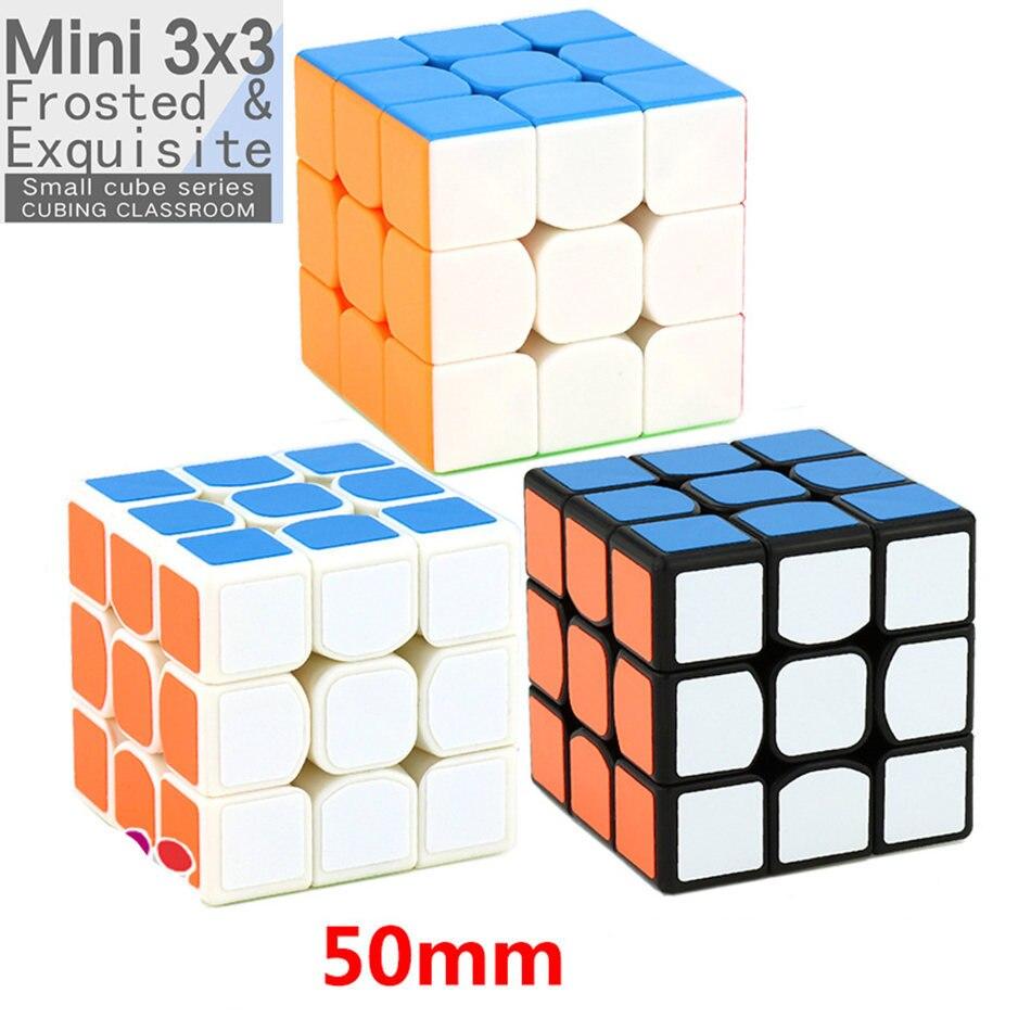 Moyu Mini 3x3 Cube 5.0 50mm Version Cube vitesse Cubes magiques professionnel Puzzle jouets pour enfants enfants cadeau