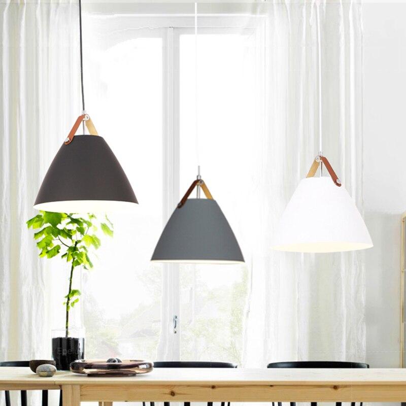 Modern Pendant Ceiling amps E27 Aluminum Pendant Lights Home restaurant decoration lighting lamps Nordic simple