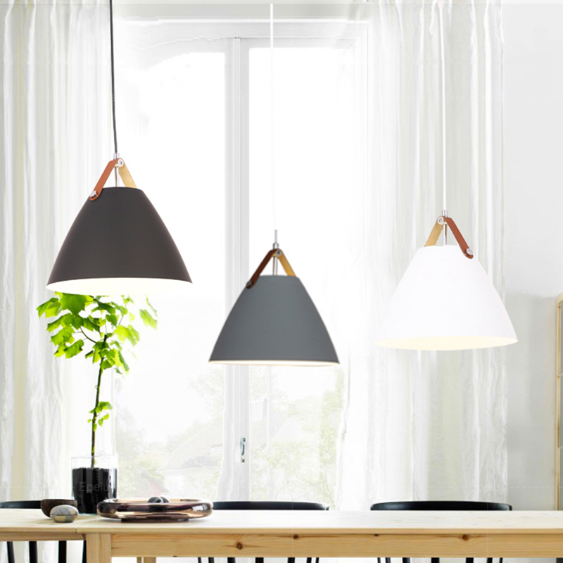Modern Pendant Ceiling amps, E27 Aluminum Lights, Home restaurant decoration lighting lamps Nordic simple
