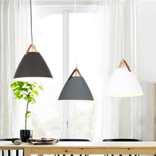 Modern Pendant Ceiling amps, E27 Aluminum Pendant Lights, Home restaurant decoration lighting lamps Nordic simple nordic contracted pendant lights e27 aluminum pendant lamp household decorative lighting room shop decoration clothing store