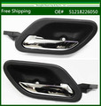 New Black With Chrome Inside Door Handle For BMW E38 E39 M5 LH+RH Front Rear 51218226050 / 51 21 8 226 049